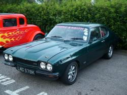 FORD CAPRI green