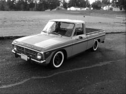 FORD COURIER black