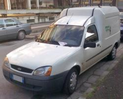FORD COURIER red
