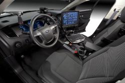 FORD CROWN POLICE interior