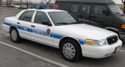 ford crown police