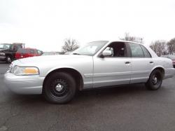 FORD CROWN POLICE silver