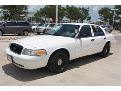 FORD CROWN POLICE white