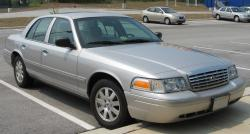FORD CROWN VICTORIA silver
