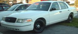 FORD CROWN VICTORIA white