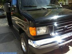 FORD E-150 VAN black