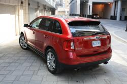 FORD EDGE LIMITED red