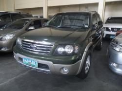 FORD ESCAPE 2.0 green
