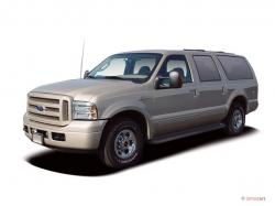 FORD EXCURSION silver