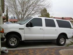 FORD EXCURSION white