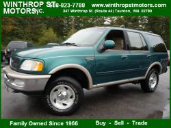 FORD EXPEDITION 4X4 green