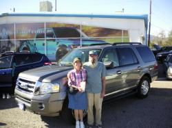 FORD EXPEDITION 4X4 silver