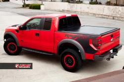 FORD F150 red