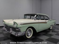 FORD FAIRLANE 500 green