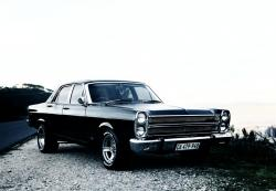FORD FAIRLANE black