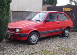 FORD FIESTA 1.1 brown