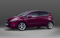FORD FIESTA brown