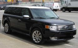 FORD FLEX LIMITED green