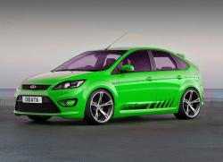 FORD FOCUS ST green