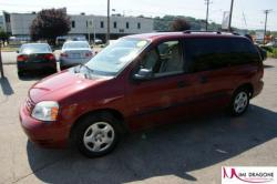 FORD FREESTAR red