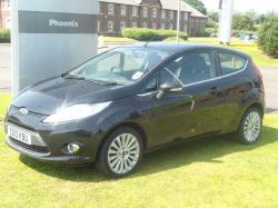 FORD FUSION 1.25 black