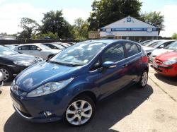 FORD FUSION 1.25 blue