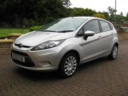 FORD FUSION 1.25 silver
