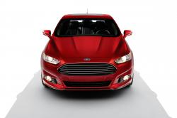 FORD FUSION red