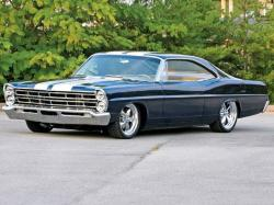 FORD GALAXIE 500 black