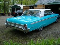 FORD GALAXIE 500 blue