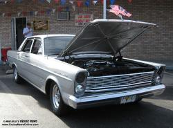 FORD GALAXIE 500 brown