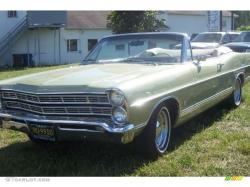 FORD GALAXIE 500 silver