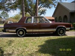 FORD GRANADA brown