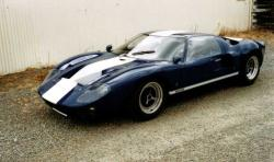 FORD GT 40 brown
