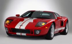 FORD GT 40 red