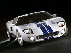 FORD GT 40 white