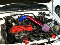 FORD LASER engine