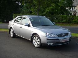 FORD MONDEO silver