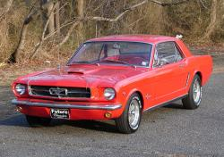 FORD MUSTANG 289 red