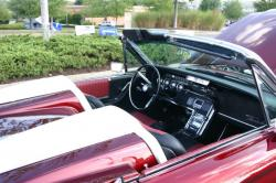 FORD THUNDERBIRD CAR interior