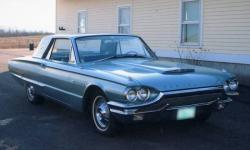 FORD THUNDERBIRD CAR silver