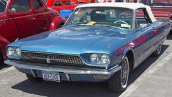 FORD THUNDERBIRD blue