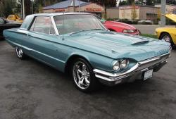 FORD THUNDERBIRD green
