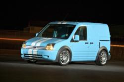 FORD TRANSIT CONNECT blue
