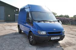 FORD TRANSIT blue