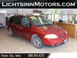 FORD WINDSTAR 3.8 red