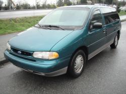 FORD WINDSTAR green