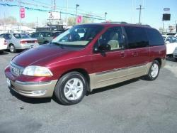 FORD WINDSTAR red