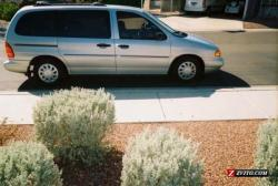 FORD WINDSTAR silver