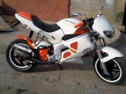 GILERA DNA 125 brown